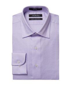 Saks Fifth Avenue | Spread Collar Slim Fit Dress Shirt