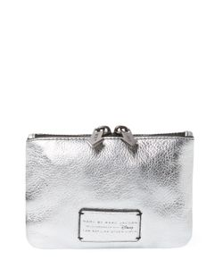 Marc by Marc Jacobs | Alice Shine Leather Small Pouch