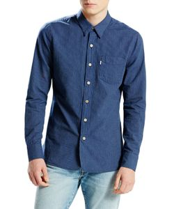Levi's | Selvedge Sunset 1-Pocket Striped Sportshirt