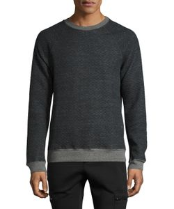 Michael Stars | Quilted Crewneck Sweater