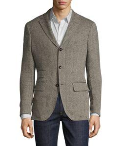 Michael Bastian | Herringbone Blazer Bee Liner Jacket