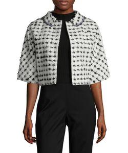 Carolina Herrera | Trimmed Crop Jacket
