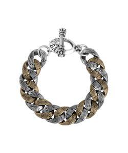 King Baby | Two-Toned Rivet Link Bracelet