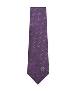 Versace | Diamond Embroide Silk Tie