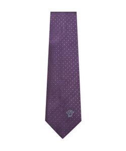 Versace | Diamond Embroide Silk Tie