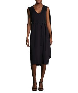 Narciso Rodriguez | Jersey Asymmetrical Cape Dress