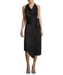 Misha Collection | Javana Silk Asymmetrical Dress