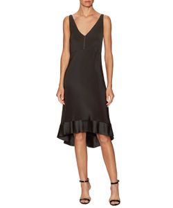 Narciso Rodriguez | Silk V-Neck High Low Dress