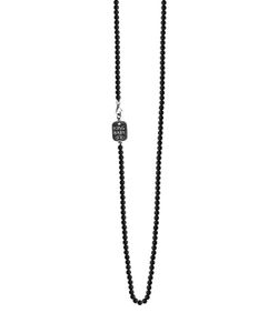 King Baby | Onyx Bead Necklace