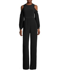 Alexis | Easton Button Embellishment Jumpsuit