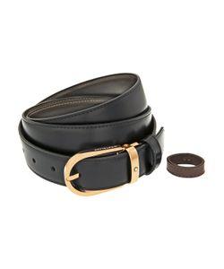 Montblanc   Horseshoe Buckle Leather Belt