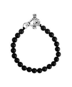 King Baby | Onyx Bead Bracelet