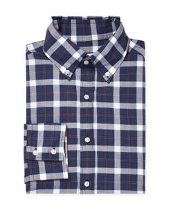 Michael Bastian | Checke Button-Down Sportshirt