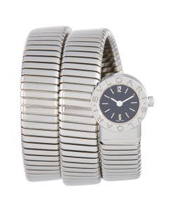 Bulgari | Vintage Serpenti Tubogas Stainless Steel Watch 19mm