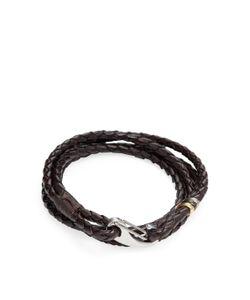 Paul Smith | Braided Leather Bracelet
