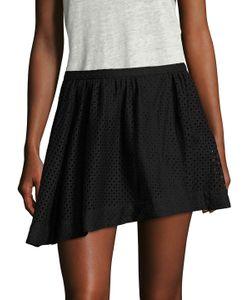 Iro | Otilia Eyelet Mini Skirt