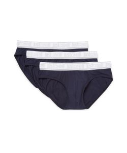 Just Cavalli | Cotton Solid Brief 3 Pk
