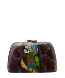 Serpui | Macaw Mother Of Pearl Clutch