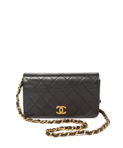 Chanel | Vintage Quilted Lambskin Full Flap New Mini