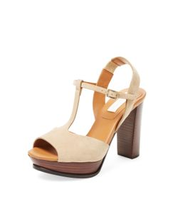 See by Chloé | Suede T-Strap Sandal