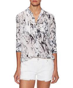 Lemlem | Hana Printed Spread Collar Shirt