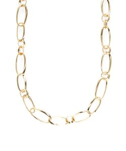 Kenneth Jay Lane | Alternating Chain Link Station Necklace