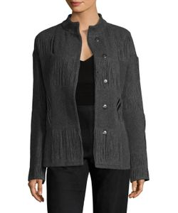 Narciso Rodriguez | Wool Jacquard Paneled Jacket