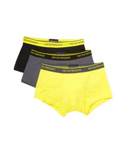 Emporio Armani | Pop Color Stretch Cotton Multipack Trunks 3 Pk