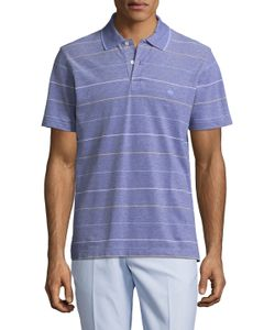 Brooks Brothers | Oxford Road Map Striped Slim Fit Polo