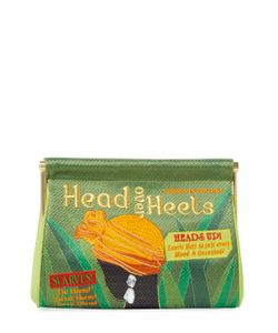 Charlotte Olympia | Head Over Heels Maggie Small Clutch