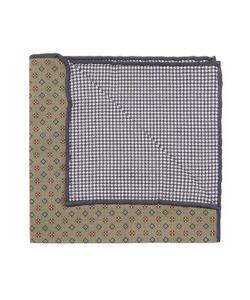 Brunello Cucinelli   Print Silk Pocket Square
