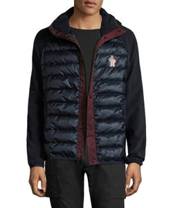 Moncler Grenoble   Solid Quilted Jacket
