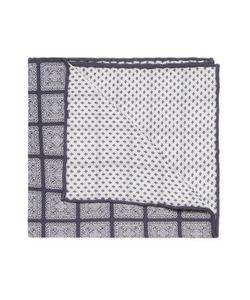 Brunello Cucinelli   Intricate Print Pocket Square