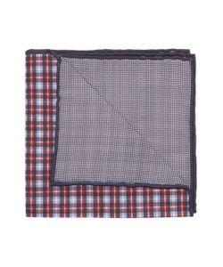 Brunello Cucinelli   Checke Print Pocket Square