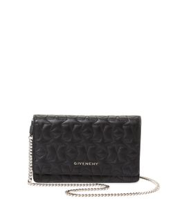 Givenchy | Pandora Star Leather Wallet On A Chain