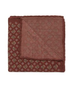 Brunello Cucinelli | Printed Wool Pocket Square