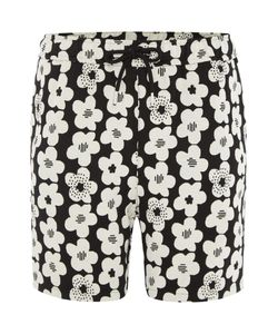 Soulland | Mens Drawstring All Over Flower Print Jersey Shorts
