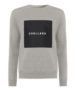 Soulland | Mens Newsoul Crew Neck Square Logo Sweatshirt