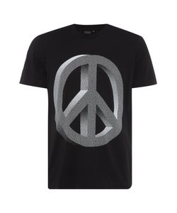 PS Paul Smith | Mens Ps By Paul Smith Regular Fit Crew Neck Peace Sign