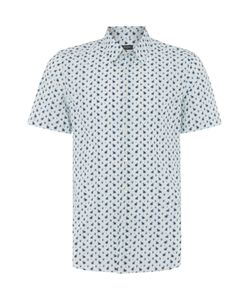 PS Paul Smith | Mens Ps By Paul Smith Regular Fit Mini Palm Print Shirt