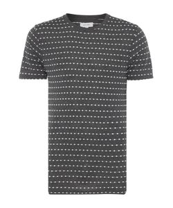 Soulland | Mens Fernell Regular Fit Embroidered Dot T Shirt