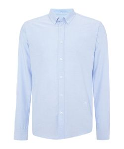 Soulland | Mens Goldsmith Regular Fit Dobby Spot Shirt