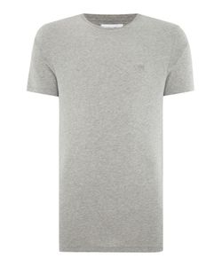 Soulland | Mens Regular Fit Small Ribbon Logo T Shirt
