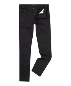 Neuw | Mens Lou Pure Black Slim Fit Jean