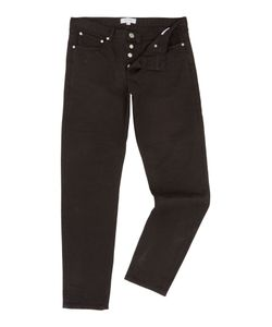 Soulland | Mens Erik Black Regular Fit Jean