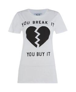 Zoe Karssen | Short Sleeve You Break It Tee