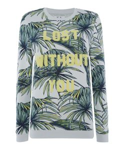 Zoe Karssen | Lost Without You Tropical Print Sweater