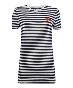Zoe Karssen | Short Sleeve Strip Heart T-Shirt
