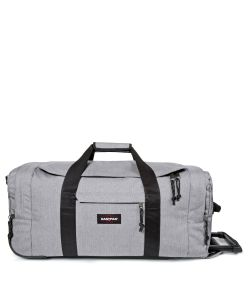 Eastpak | Leatherface Medium Sunday Grey Wheeled Suitcase