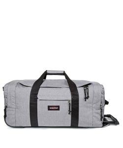 Eastpak | Leatherface Medium Sunday Grey Wheeled Suitcase